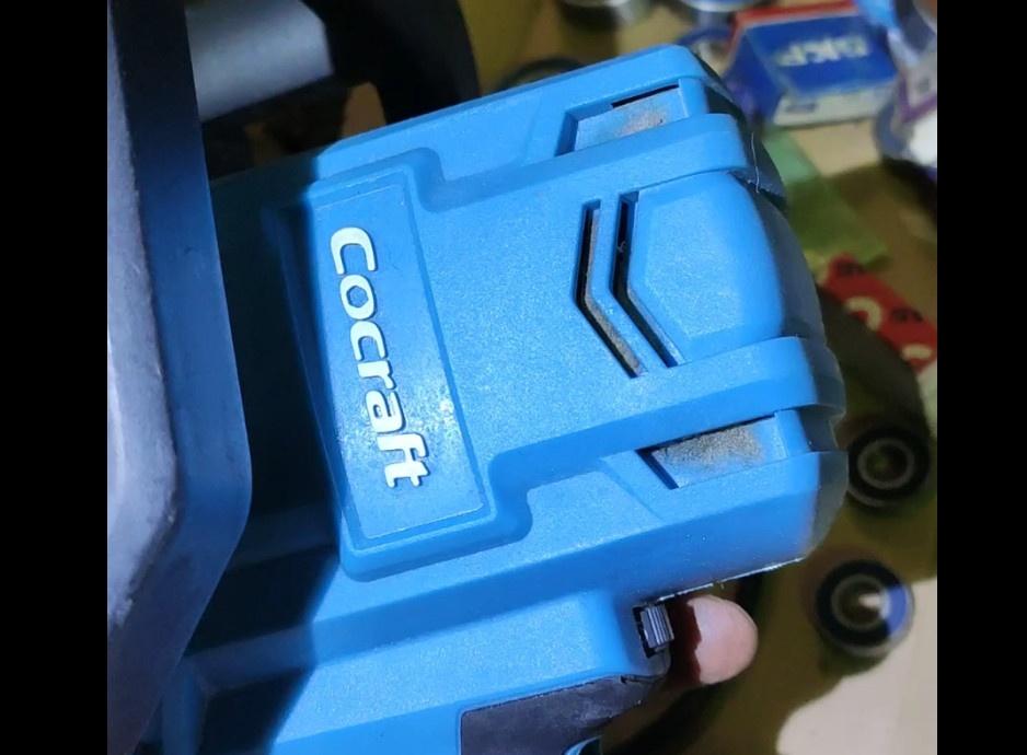 Замена подшипника в орбитальной машине Cocraft