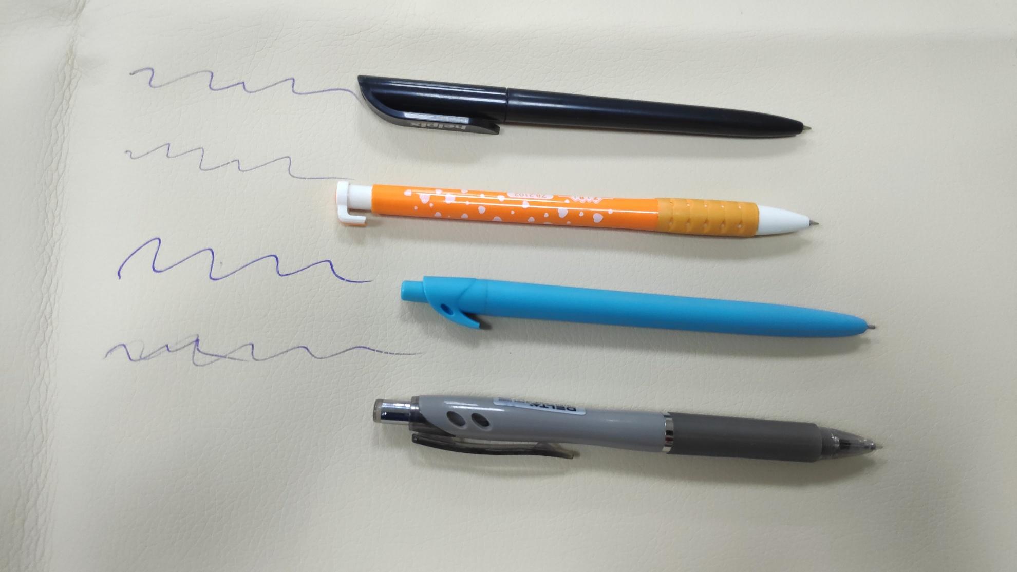 Удаление пятен шариковой ручки с кожзама (видео и пояснения)