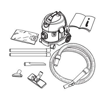 Схема компоновки и подбора запчастей к пылесосу Columbus ST 7