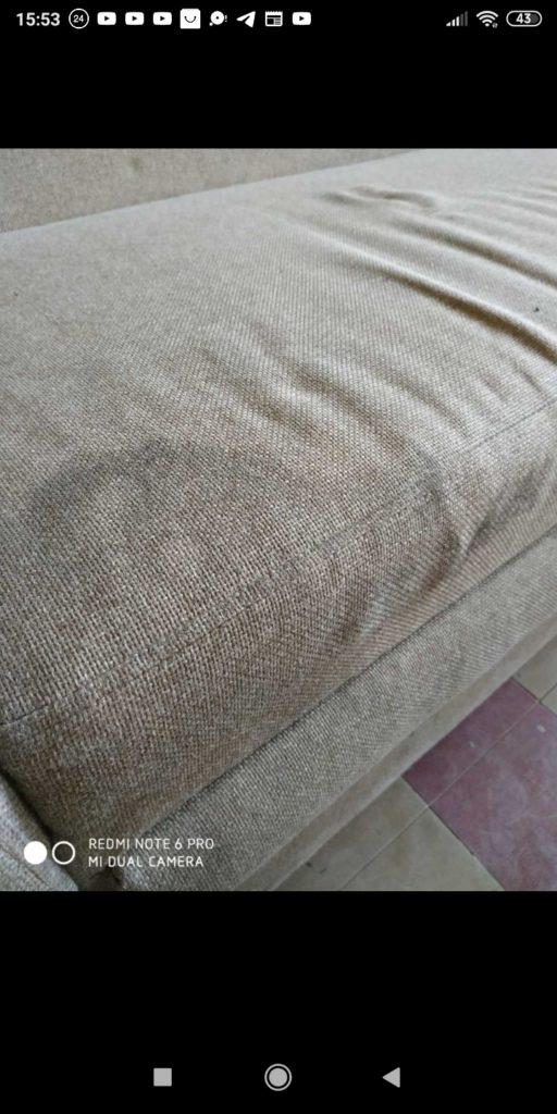 Химчистка после замывки